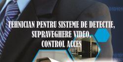 Angajam tehnician sisteme de securitate